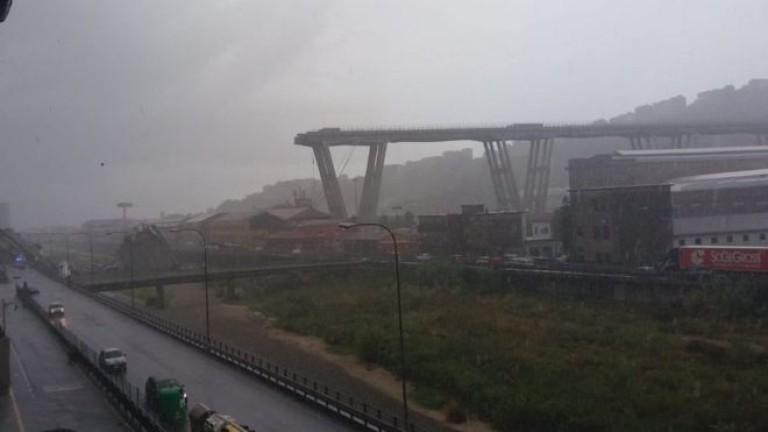 Магистрален мост се срутикрайиталианския град Генуа, съобщават световни агенции. Questo