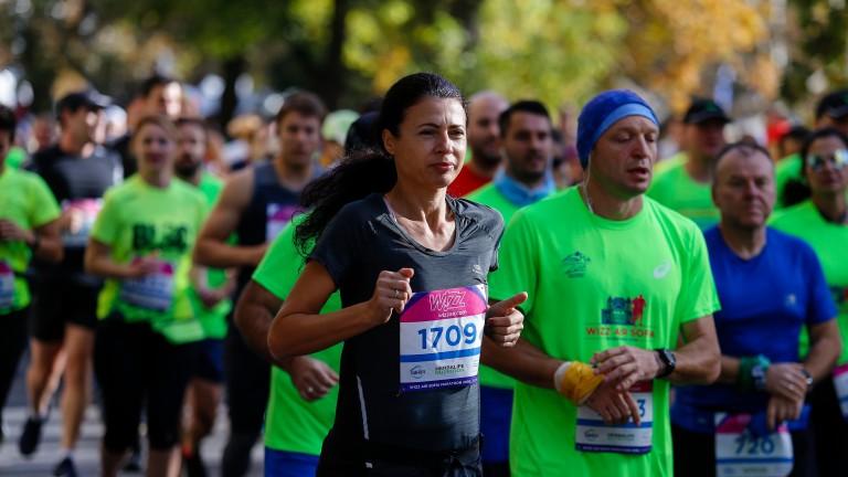 Обиколката на Софийския маратон става 21 км