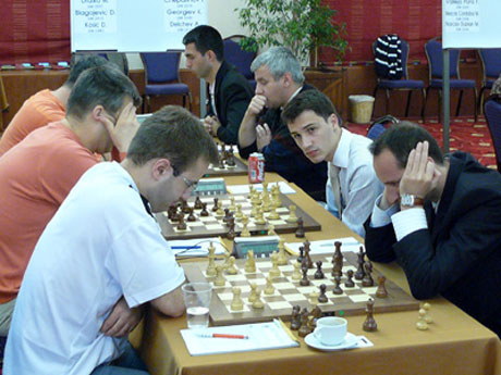 Борислав Иванов разцепи шаха