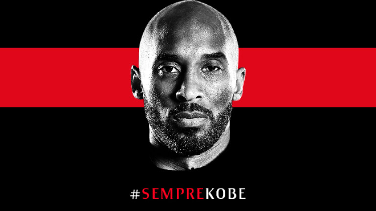 Милан ще излезе с черни ленти в памет на Коби Брайънт