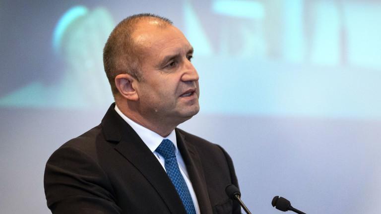 Румен Радев: Да не допуснем лобиране, медиен и политически натиск от РС Македония