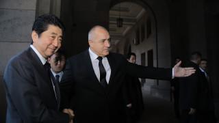 Мощна бизнес делегация доведе Шиндзо Абе на каратиста Борисов