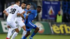 """Славия - Левски 0:0, фенове на """"сините"""" започнаха да чупят седалки"""