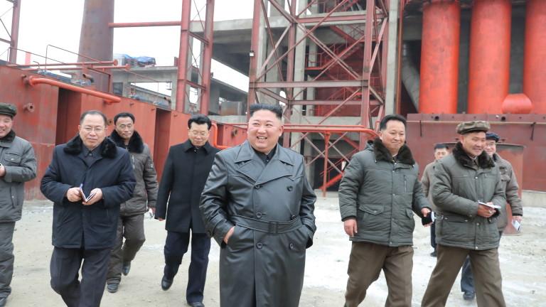 Слабо земетресение е регистрирано в Северна Корея, което вероятно е