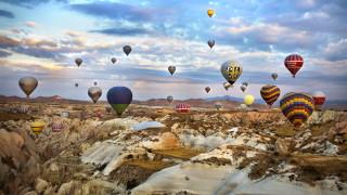 Защо балоните летят над Кападокия (ВИДЕО)