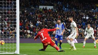 Реал (Мадрид) загря за Барса с класически успех