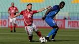 Левски - ЦСКА 0:2 (Развой на срещата по минути)