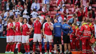 От датската футболна федерация излязоха с нова информация за Ериксен