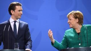 Меркел предупреди Австрия, че ще я оценява по действията ѝ за ЕС