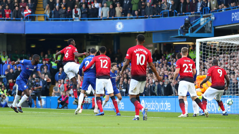 """Зрелище на """"Стамфорд Бридж""""! Юнайтед възкръсна, но изпусна трите точки в края!"""