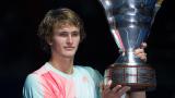 Александър Зверев с първа турнирна победа