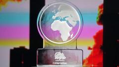 Ледена скулптура зае мястото на Борис Джонсън на дебат за климата