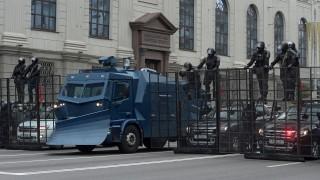 Стотици арести в Минск