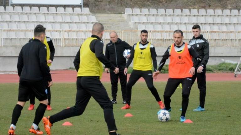 Черно море вече тренира за последния си мач от редовния сезон