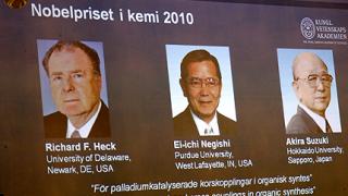 Американец и двама японци с Нобелова награда за химия