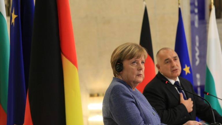 Канцлерът на Германия Ангела Меркел ще се срещне с колегите