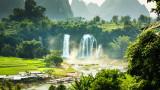 Водопадът Детиан - азиатското чудо