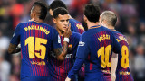 Барселона победи Виляреал с 5:1
