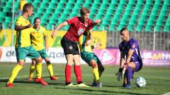 Ужасяващ удар беляза контролата между Локомотив (София) и Локомотив (Горна Оряховица)