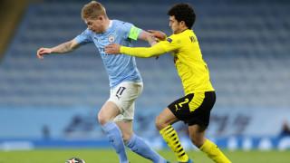 """Манчестър Сити - Борусия (Дортмунд) 2:1, късна драма на """"Етихад"""""""