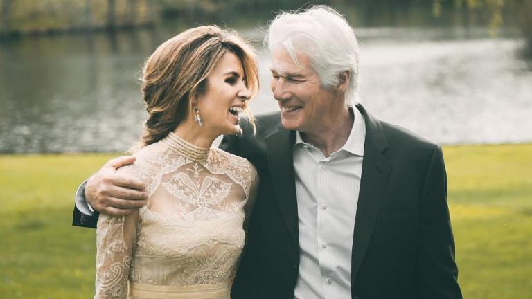 Ричард Гиър и Алехандра Силва изживяват един от най-прекрасните моменти