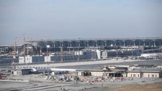 Новото летище на Истанбул ще заработи на пълни обороти на 3 март