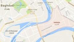 """Обстреляха """"Зелената зона"""" на Багдад"""