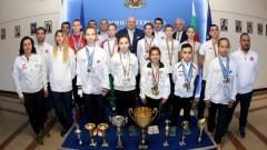 Министър Красен Кралев поздрави ръководството и медалистите на БФ таекундо WTF