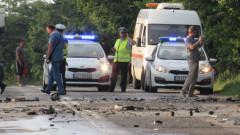 8 души, сред които 4 деца, са ранени при верижна катастрофа до Пловдив