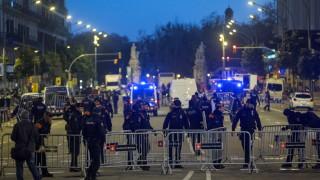 Протестиращи в Каталуния блокират пътища заради заседание на правителството