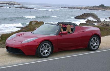 Спортен електромобил Tesla Roadster  в продажба