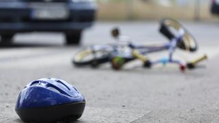 Кола блъсна дете с колело край Благоевград