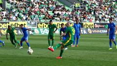 Лудогорец - Левски 3:0, гол на Битон