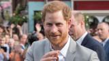Какво подари принц Хари на принц Луис