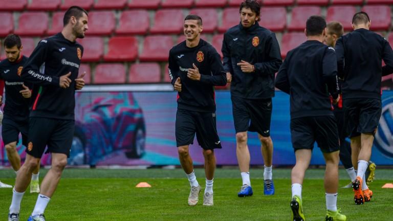 Националите с последна тренировка преди мача с Косово