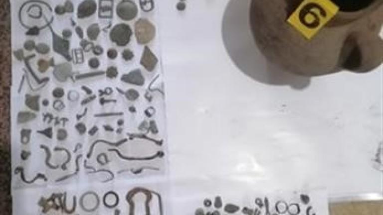 Граничари иззеха 688 антични предмета от частен имот в Силистра