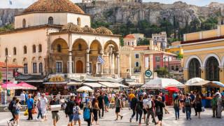 Гръцката икономика се сви с рекордните 15% през второто тримесечие
