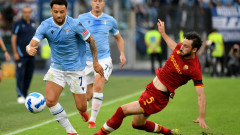 "Лацио надигра Рома и спечели ""Дерби дела Капитале"""