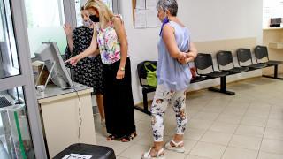 Проведоха пробно гласуване с машини в Пловдив