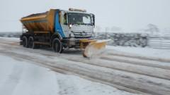 Затруднено е движението в части на Гърция заради снеговалежите