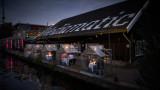 Амстердам, ресторант ETEN и стъклените къщички, в които настаняват гостите си