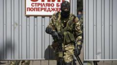 Враждуващите страни в Украйна изтеглят танковете от фронта в Донецк