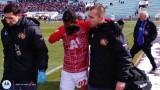 Евандро от ЦСКА пропуска мача със Септември