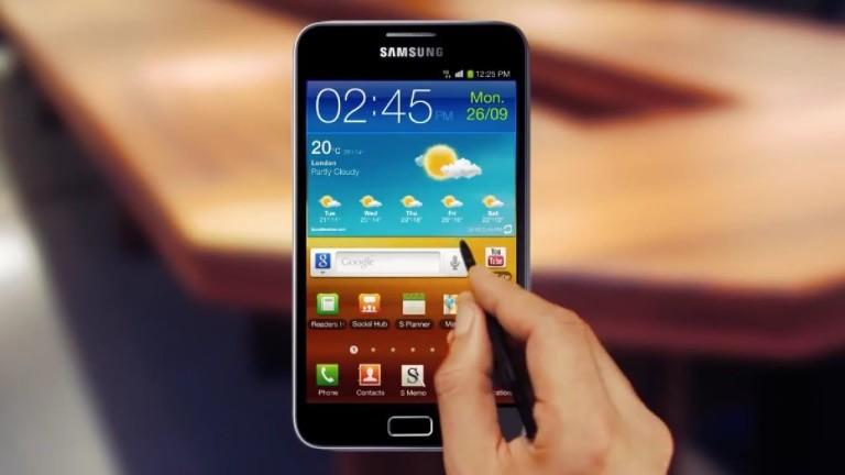 """Екранът на """"големия"""" Galaxy Note бе едва 5.3 инча"""