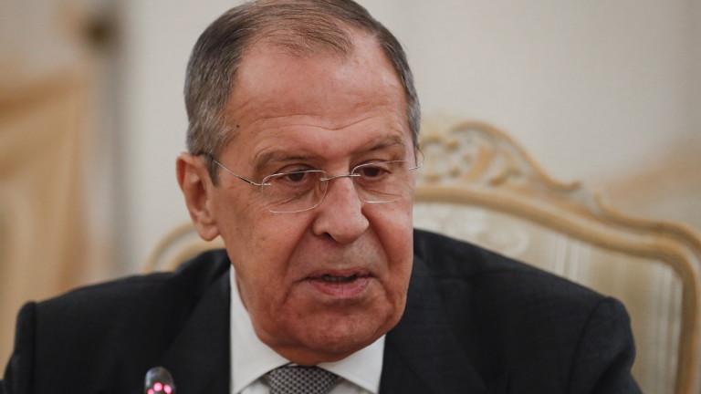 Руският външен министър Сергей Лавров коментира твърденията на българската прокуратура
