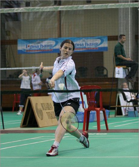 Линда Зечири спечели Откритото на България
