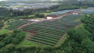 AES откри най-големият в света хибриден соларен парк
