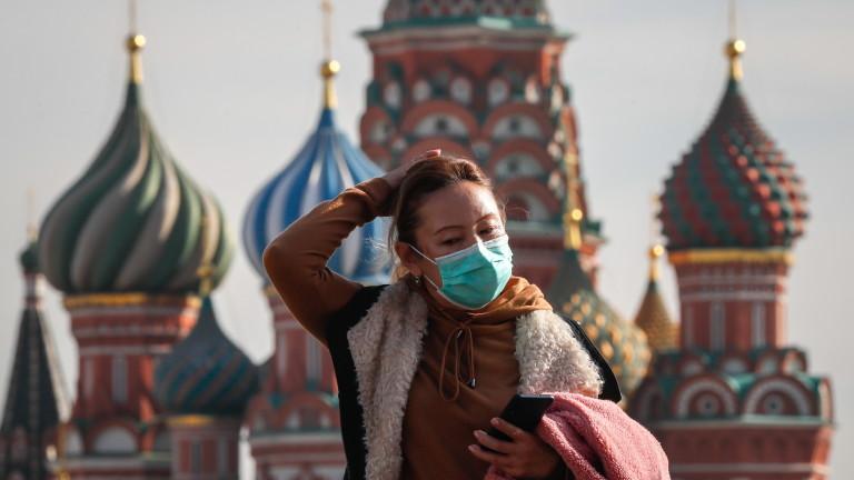202 жертви на COVID-19 в Русия за 24 часа, най-много от 1 юли