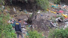 Сметище зарина с боклуци КАТ в Пловдив