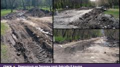 Лошото време удължава ремонта на Западния парк до изборите наесен